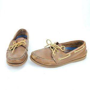 Sperry Top-Sider 2-Eye Canoe Leather Boat Shoes